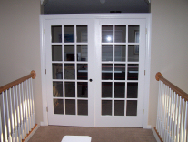 picture of door after